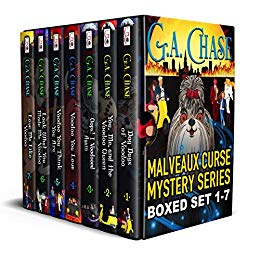 Free: The Malveaux Curse Mysteries Full Series Bundle (Books 1-7)