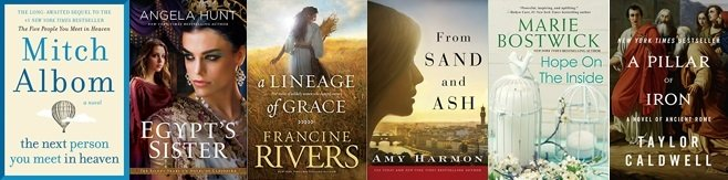 Enter to Win 6 Christian Fiction Novels