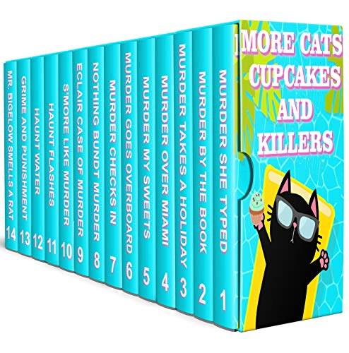 14 Book Set: More Cats Cupcakes and Killers
