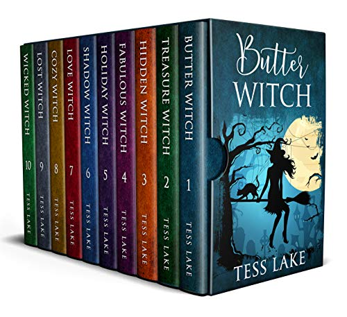 Torrent Witches Cozy Mysteries Complete Box Set (Books 1 – 10)